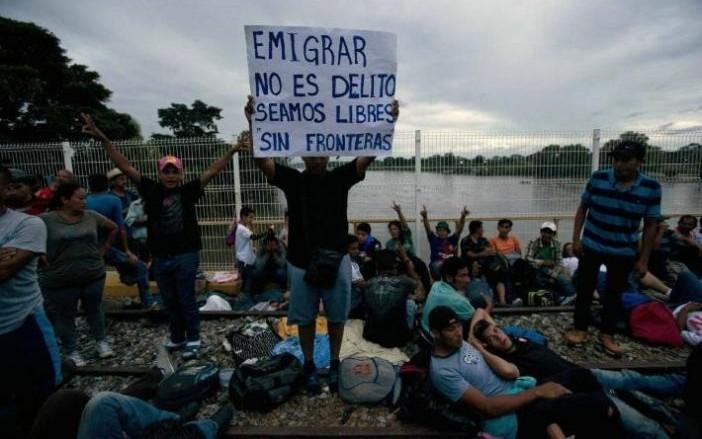 Recibe México 1,743 solicitudes de refugio de migrantes