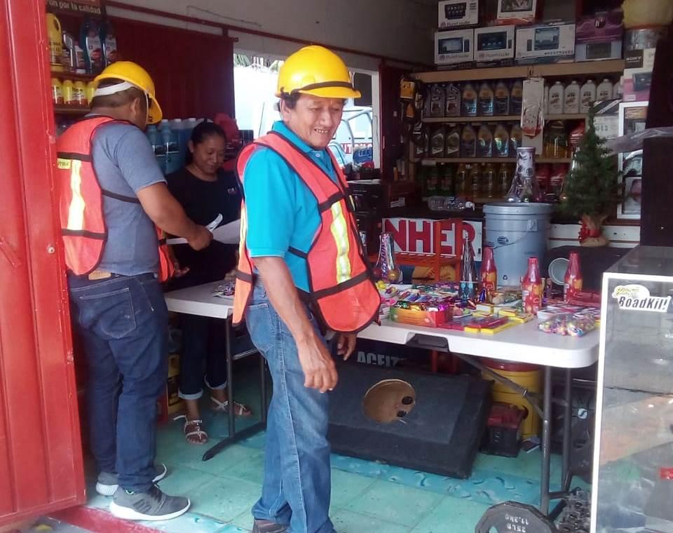 Autoridades supervisan establecimientos