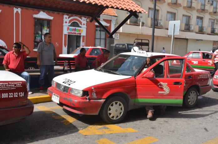 Ruleteros no utilizan app de taxis
